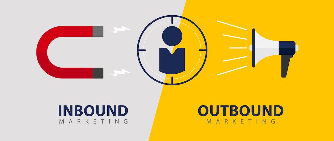 Les différences fondamentales entre l'inbound et l'outbound marketing